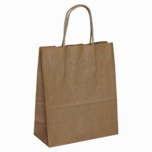 Bolsas de papel kraft con asa