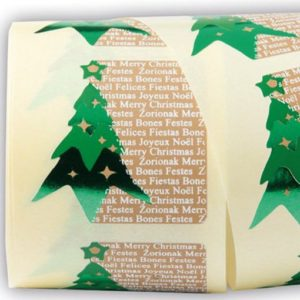 etiquetas navideñas Abeto